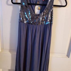 21 Dress with Sequins. Sz. S Black